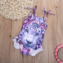 SHIRA Tiger One-Pieces Swimwear (3-10Y) -  Swimwear - The Tot Drawer