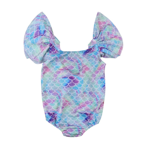 ARIEL Mermaid One-Piece Swimwear (1-4T) -  Swimwear - The Tot Drawer