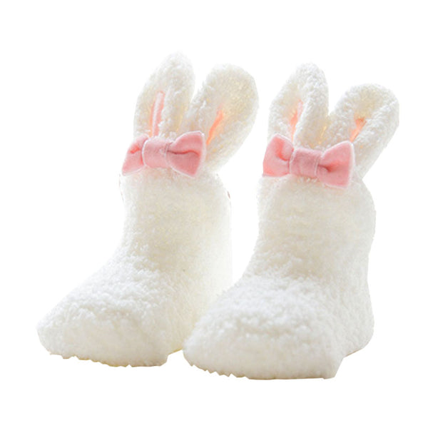Rabbit Ears Anti-Slip Socks (0-4T) - 5 color options