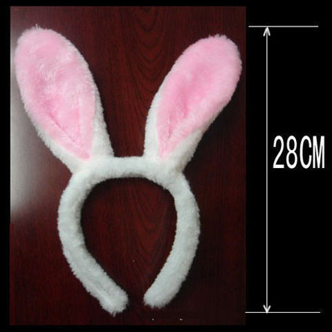 Bunny Rabbit Ears HeadBand (6 color options)