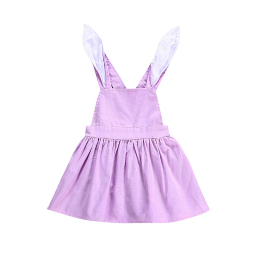 REESE Rabbit Purple Dress (1-4T)