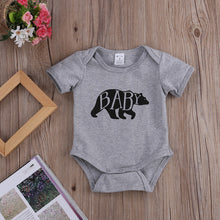 Mama Bear T-Shirt and Baby Bear Bodysuit Grey (1pc) -  Family Sets - The Tot Drawer