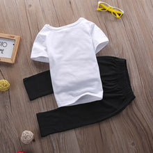 """Mama is My Bestie"" white tee and black pants set (0-24M) -  Sets - The Tot Drawer"