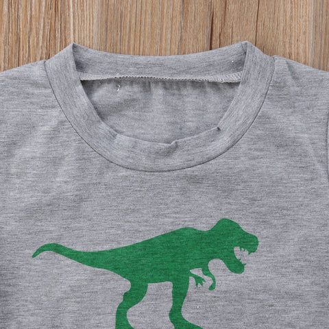 """Saurus"" Family Matching Dinosaur Graphic Tee (1pc) -  Family Sets - The Tot Drawer"