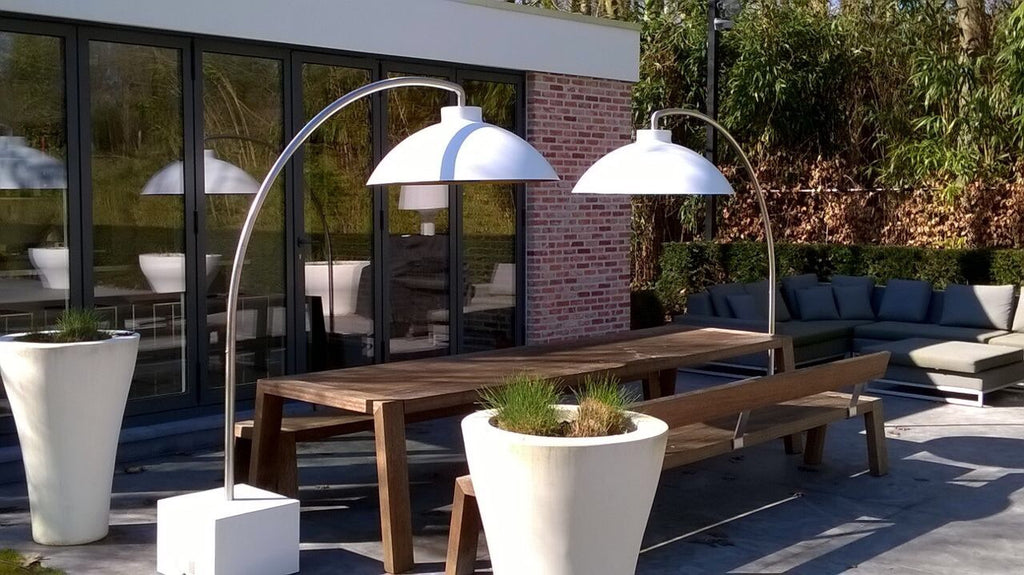 Floor Lamp Outdoor Heater