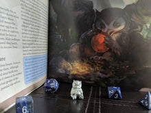 Load image into Gallery viewer, Owlbear pewter mini