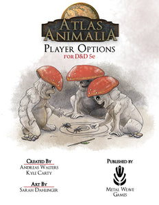 Atlas Animalia: Player Options (D&D 5e)