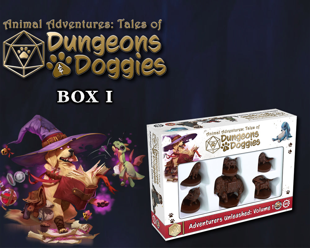 Dungeons and Doggies: Box 1