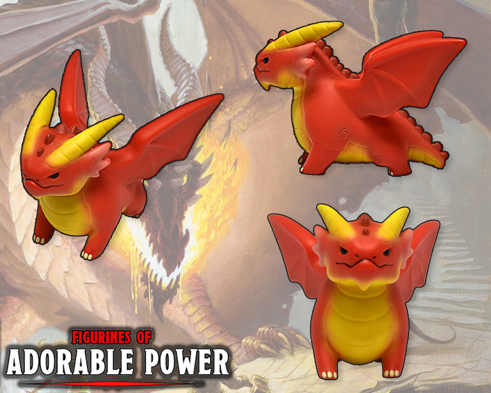 Figurine of Adorable Power: Red Dragon