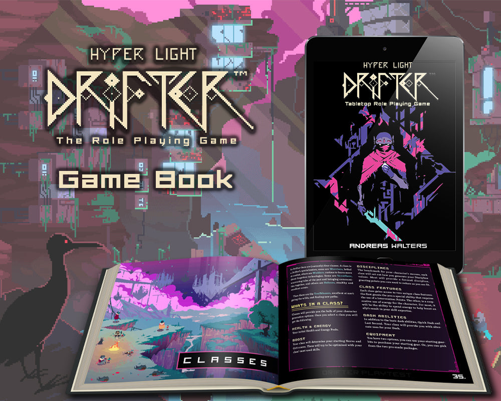Hyper Light Drifter: Game Book (Pre-Order)