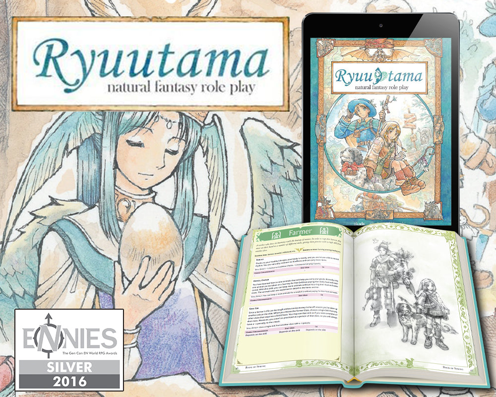 Ryuutama: Natural Fantasy Roleplaying Game