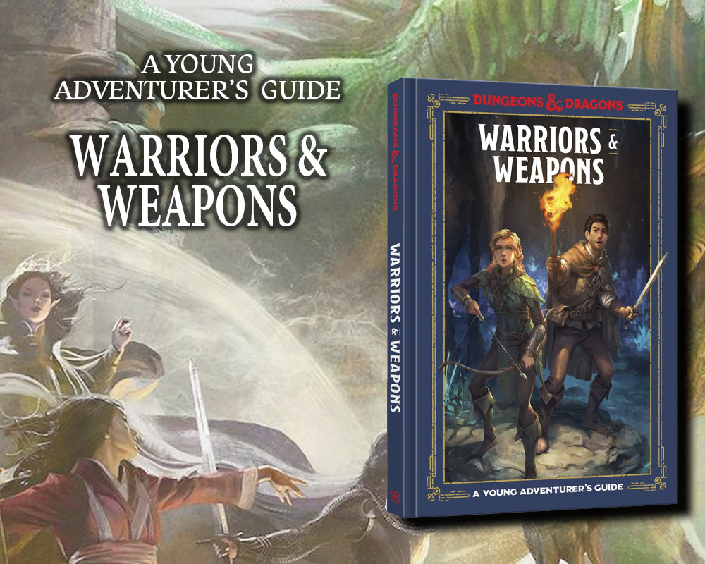Young Adventurer's Guide: Warriors & Weapons
