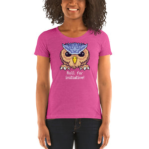 Roll for Initiative: Pixel Owlbear Women's T-Shirt