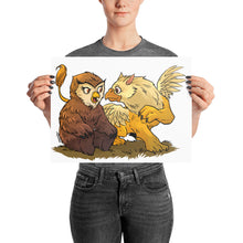 Load image into Gallery viewer, Owlbear & Griffon Friendship