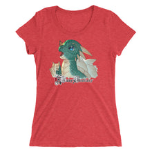 Load image into Gallery viewer, Red Triblend Nakano's Dragon Women's T-Shirt