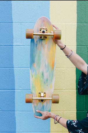 Custom Bamboo Cruiser | Cotton Candy Jelly Bean
