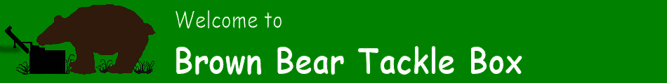 Brown Bear Tackle Box