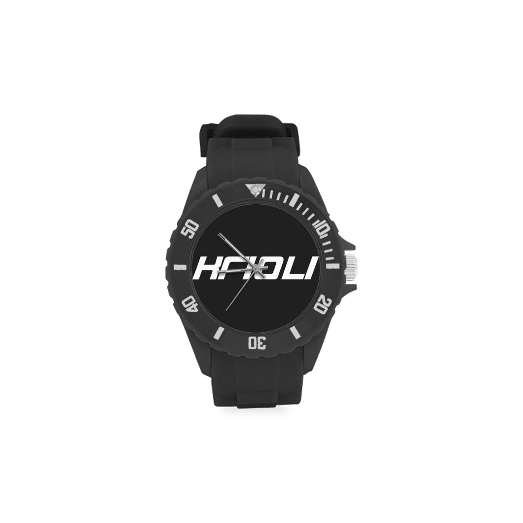 Signature Rubber Strap Sports Watch