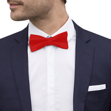 Load image into Gallery viewer, Signature Satin Bow Tie