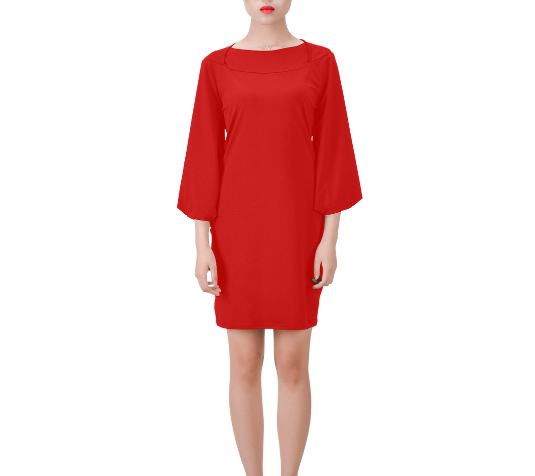 Signature Bell Sleeve Dress