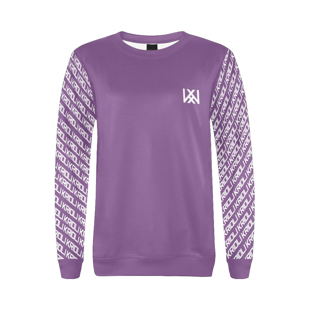 Graphic Sleeve Sweatshirt
