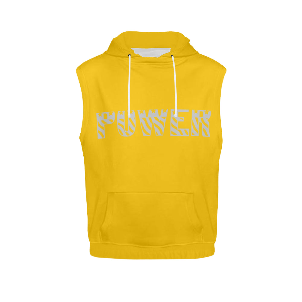 Graphic Sleeveless Hoodie