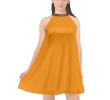 Load image into Gallery viewer, TIKA Halter Neck Dress