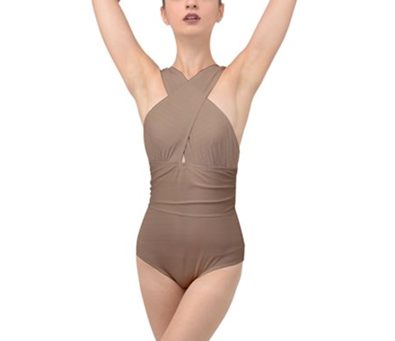 Signature Cross Wrap One-Piece
