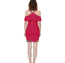 Load image into Gallery viewer, MADINI Off-the-Shoulder Dress