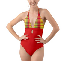 Load image into Gallery viewer, KARUK Halter One-Piece