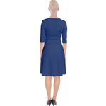 Load image into Gallery viewer, KINA Wrap Up Dress