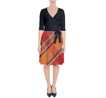 Load image into Gallery viewer, MONI Wrap Up Dress