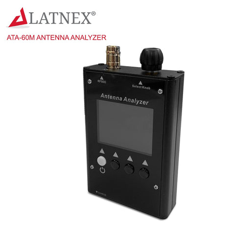 ATA-60M 0.5-60MHz Color Graphic Antenna Analyzer