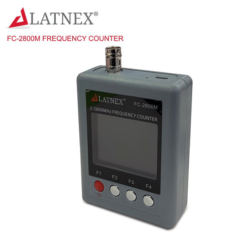 LATNEX FC-2800M Portable Frequency Counter 2Mhz - 2.8GHz