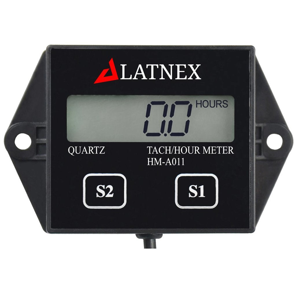 Tach/Hour Meter HM-A011 - Front