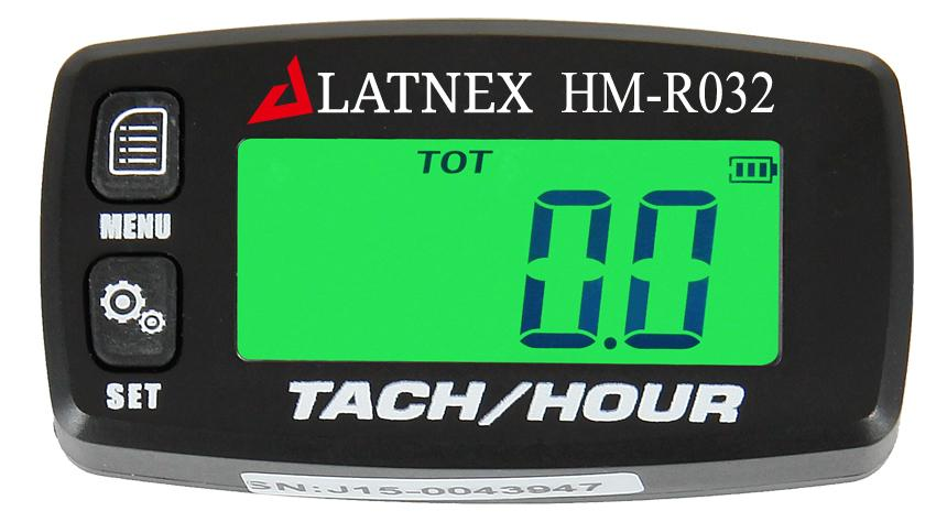 Tach/Hour Meter HM-R032 - Front