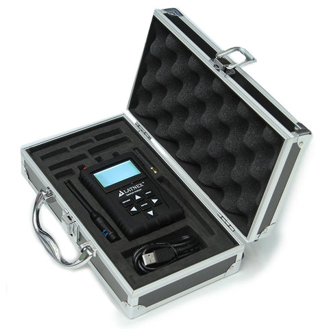 LATNEX Spectrum Analyzer SPA-3G with Advanced Aluminium Case, Black Protection Boot & USB Cable