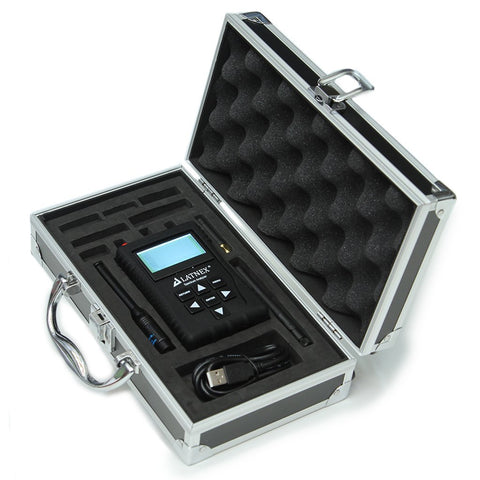 LATNEX Spectrum Analyzer SPA-6G with Advanced Aluminium Case, Black Protection Boot & USB Cable