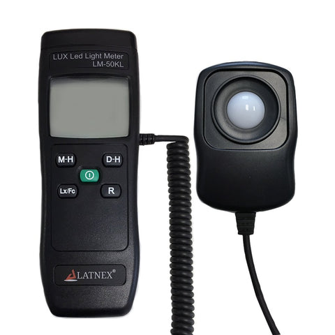 LUX Led Light Meter LM-50KL