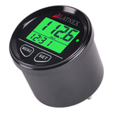 Black Digital GPS Speedometer with 3 backlights-green/red/blue