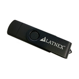 LATNEX 4GB Memory Stick USB 2.0 Flash Drive with Micro USB Interface