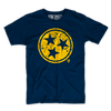 Yellow Distressed Star Tee