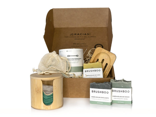 Brushboo Eco Pack - Mima tu piel