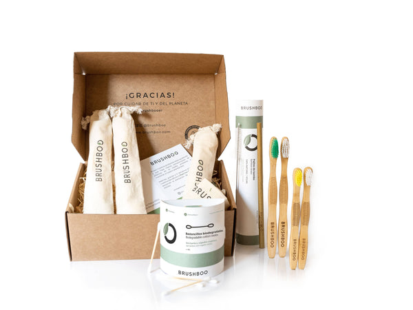 Brushboo Eco Packs - Hogar Sostenible