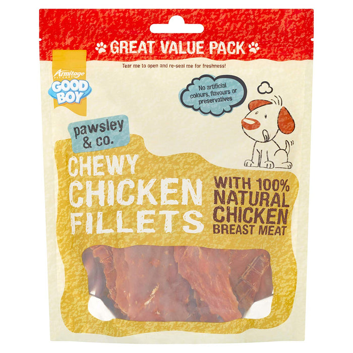 Good Boy Pawsley & Co Chewy Chicken Fillets