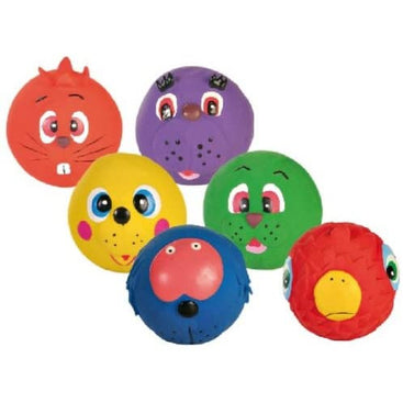 Pack Of 12 Good Boy Latex Face Balls