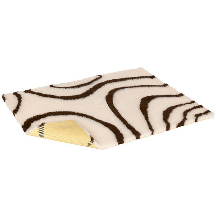 Vetbed Non-Slip Cream With Brown Swirls