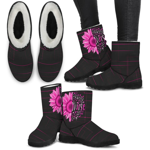 NURSE NURSING BOOTS - MikeAndNikes™- We Just Did It - Cream of The Crop®