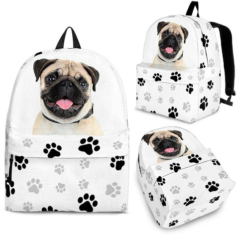 Pug Backpack - MikeAndNikes™- We Just Did It - Cream of The Crop®