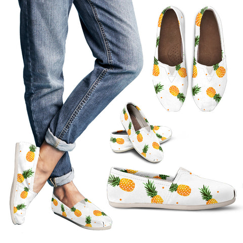 Pineapple Women's Casual Shoes - MikeAndNikes™- We Just Did It - Cream of The Crop®